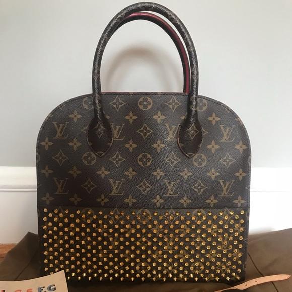8d261419ba7 Louis Vuitton Christian Louboutin Iconclasts Bag